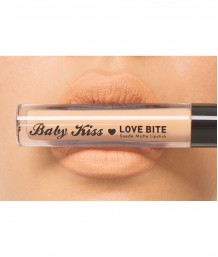 Baby Kiss Love Bite Suede Matte Lipstick - Real Nude