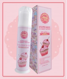 Baby Kiss CupCake CC Body Lotion - SPF 45 PA+++